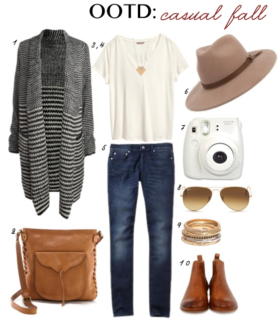 OOTD Casual Fall